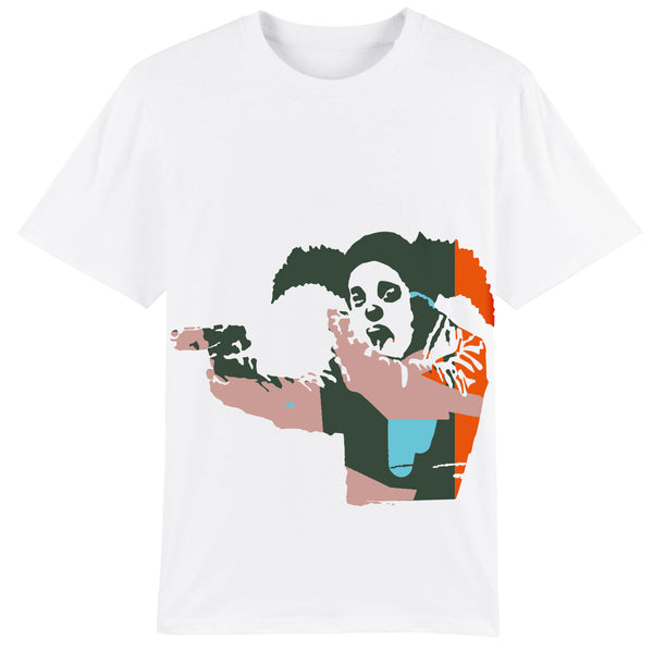 Clown Skateboards Owners Tee White