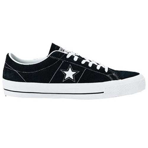 Converse One Star Pro Skateboarding Shoes - Black/White