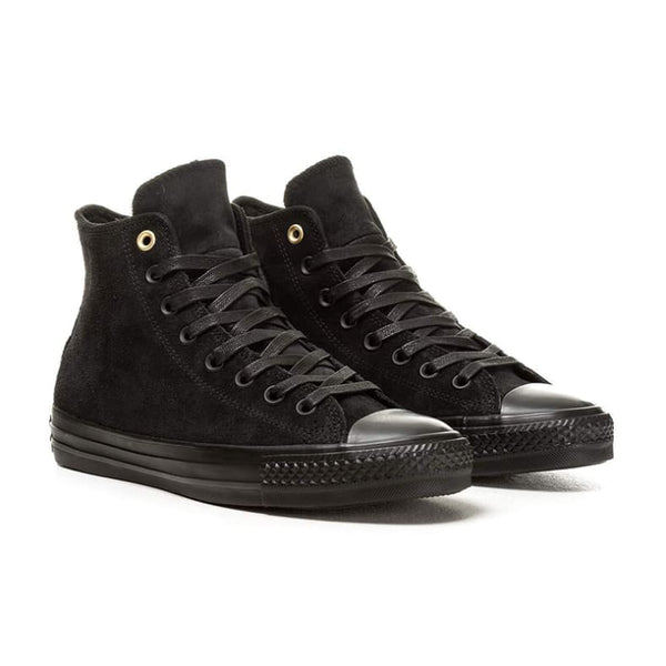 Converse Cons CTAS Pro Hi Skate Shoes - Black/Black