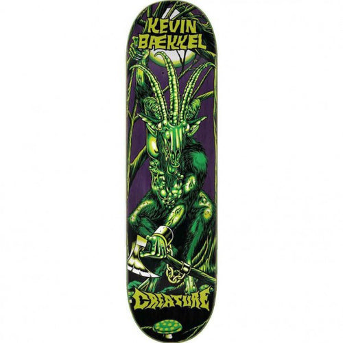 Creature Baekkel Swamp Lurker Green Skateboard Deck - 8.6