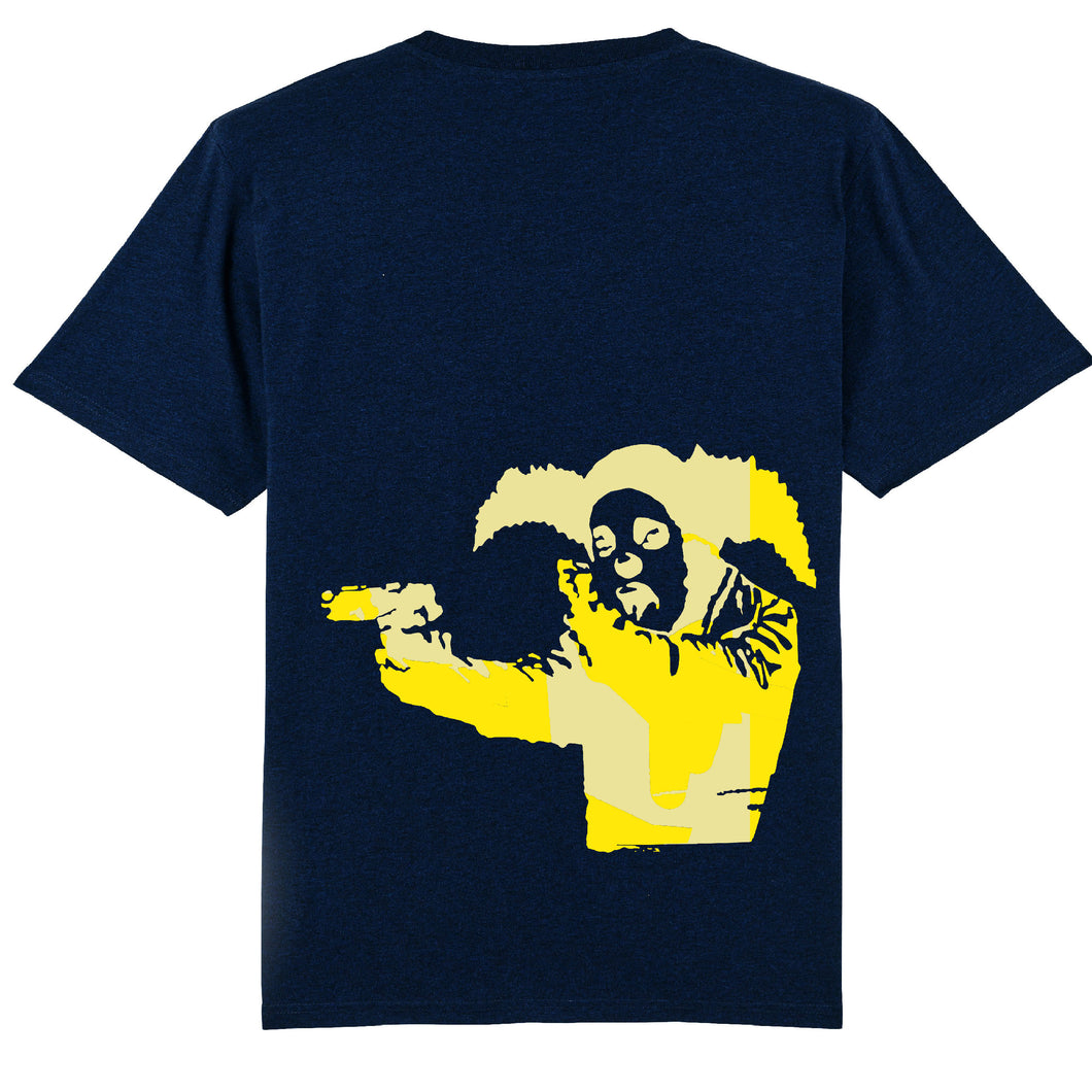 Clown Skateboards Daily Operation Tee Yellow (Navy)