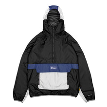 Dime MTL Ripstop Pullover Jacket - Black/Blue/White