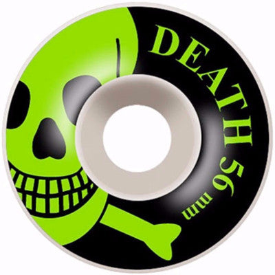 Death OG Skull Wheels Green - 56mm