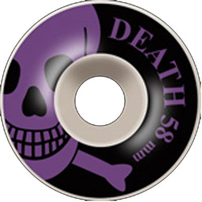 Death OG Skull Wheels Purple - 58mm
