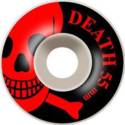 Death Skateboards OG Skull Wheels Red - 55mm