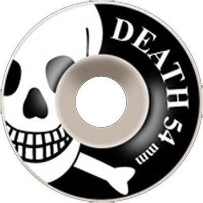 Death OG Skull Wheels White - 54mm