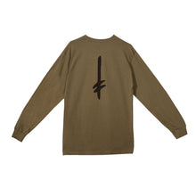 Deathwish Death Tag Long Sleeve Tee Military Green