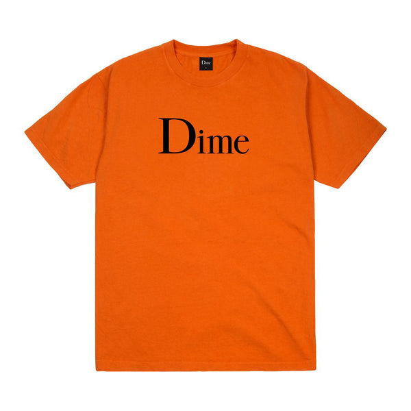 Dime MTL  Classic T-Shirt - Burnt Orange