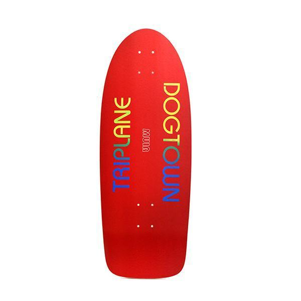 Dogtown Jim Muir Triplane Skateboard Deck Red Yorkite - 11.00 x 30.25