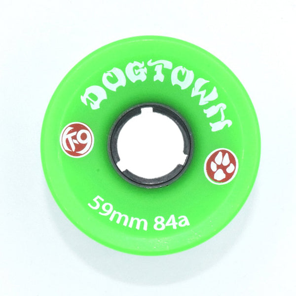 Dogtown K-9 Cruiser Wheels 59mm 84a - Neon Green