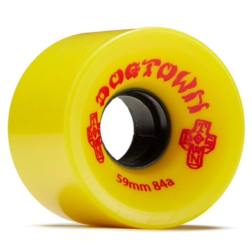 Dogtown Mini Cruiser Wheels 59mm 84a - Yellow