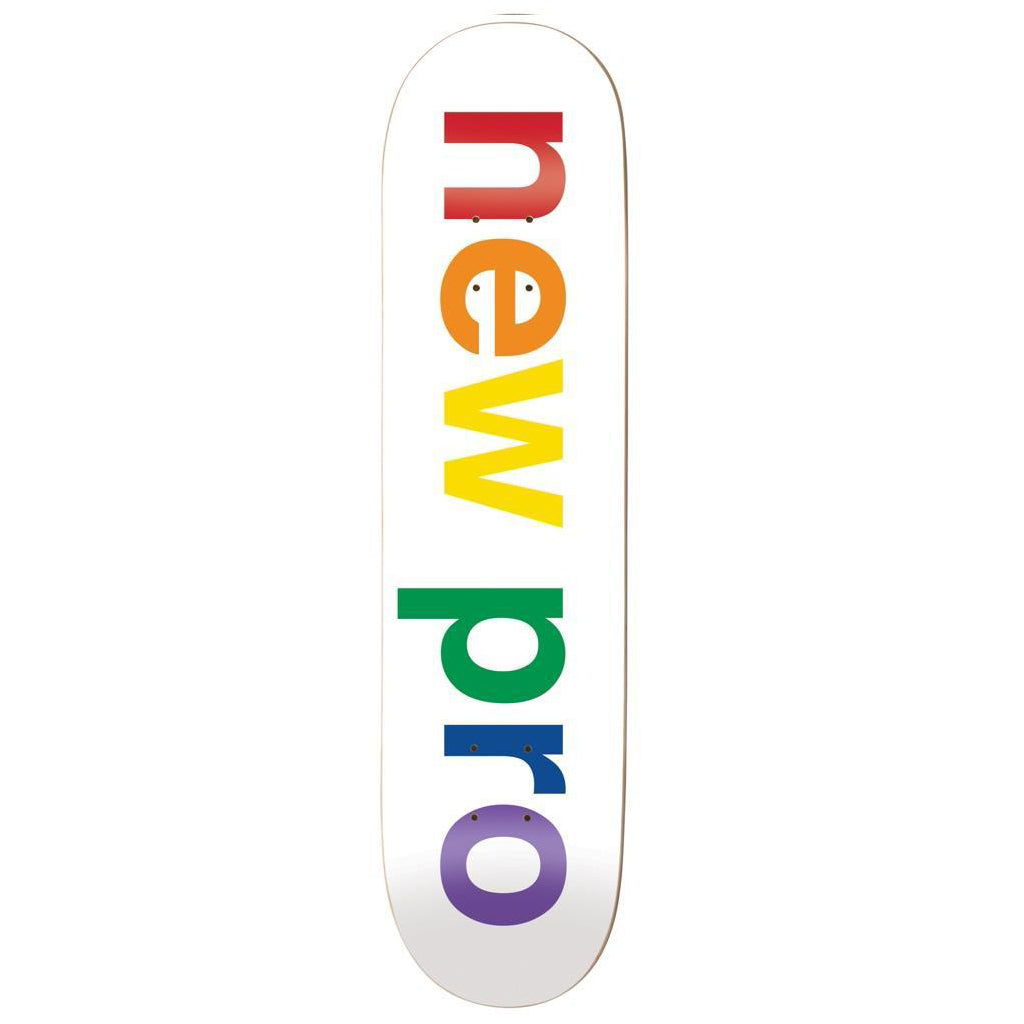 Enjoi New Pro Resin Hybrid White Skateboard Deck - 8.125