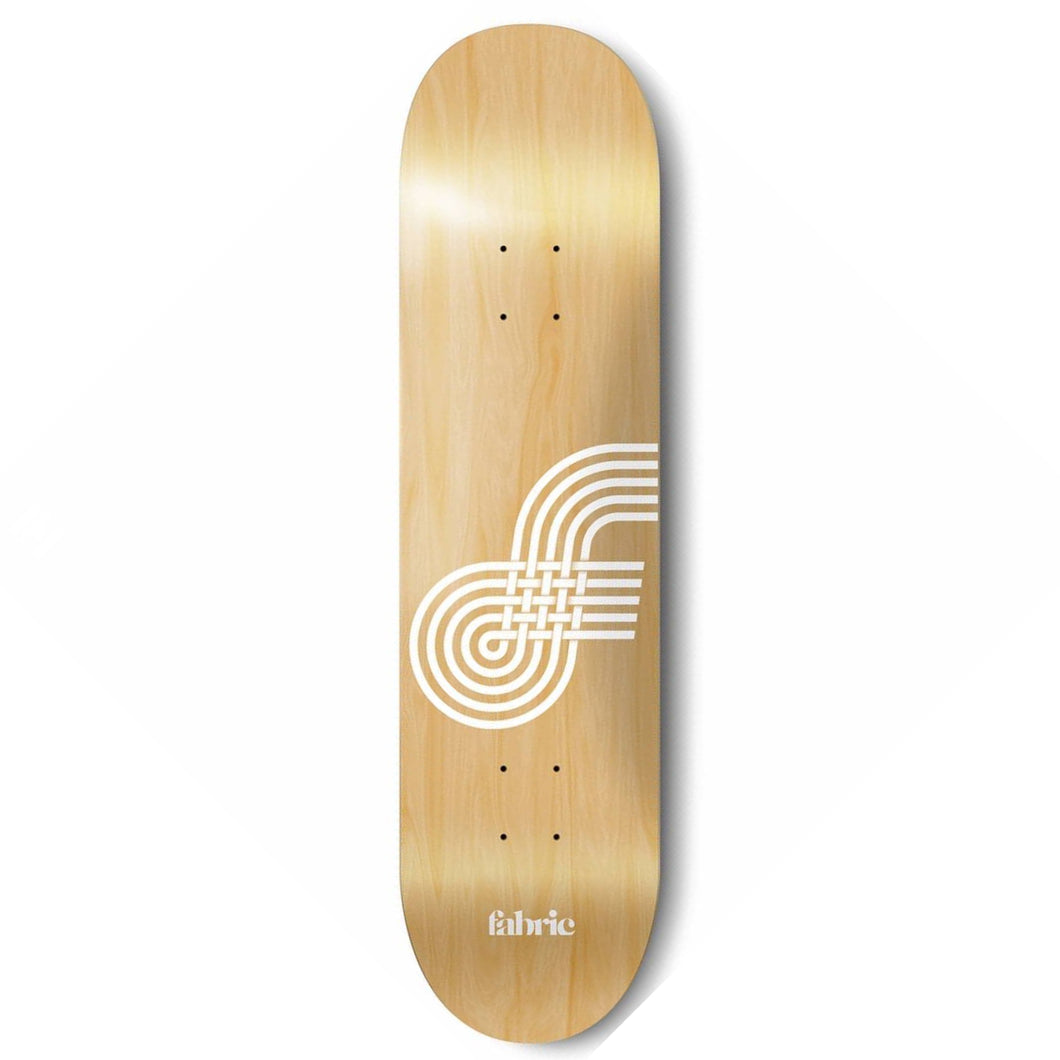 Fabric Skateboards Looping Natural Skateboard Deck - 9.00