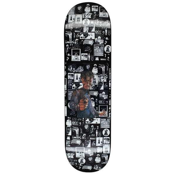 Fucking Awesome Aidan Hologram Black Skateboard Deck - 8.5