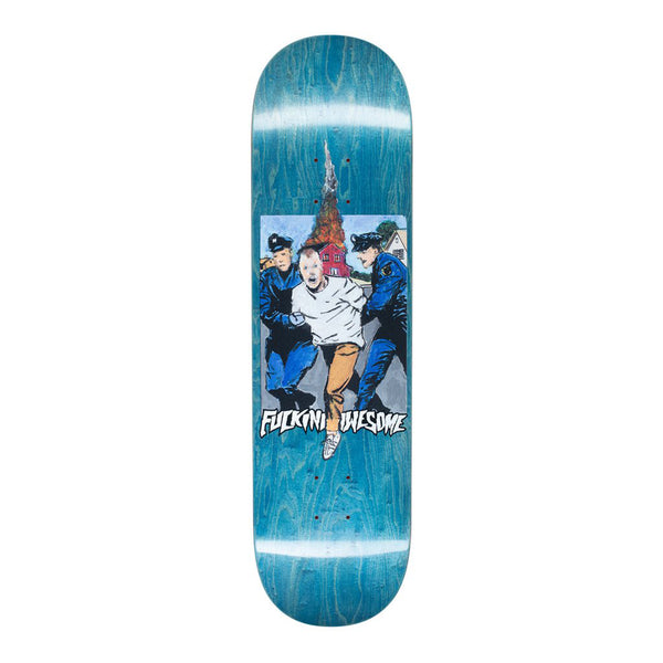 Fucking Awesome Arrested Dill Skateboard Deck - 8.25 (Assorted Stains)
