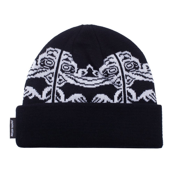 Fucking Awesome Idol Cuff Beanie Black