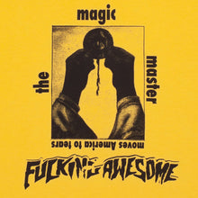Fucking Awesome The Magic Master Tee Yellow
