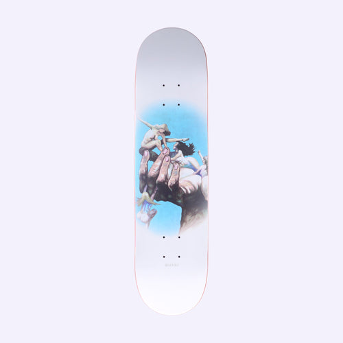 Quasi Skateboards Girls Skateboard Deck White - 8.00