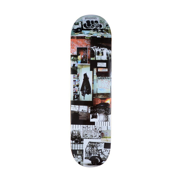 GX1000 Document Skateboard Deck (Two) - 8.5