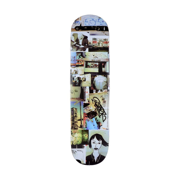 GX1000 Document Skateboard Deck (Four) - 8.25