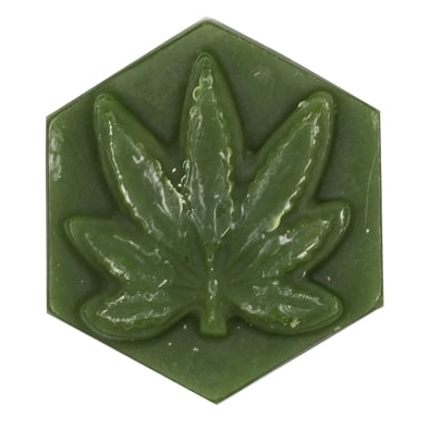 Ganj Wax Blueberry Scent Large - Dark Green