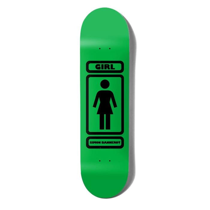 Girl Skateboards 93 Til Simon Bannerot Skateboard Deck - 8.25