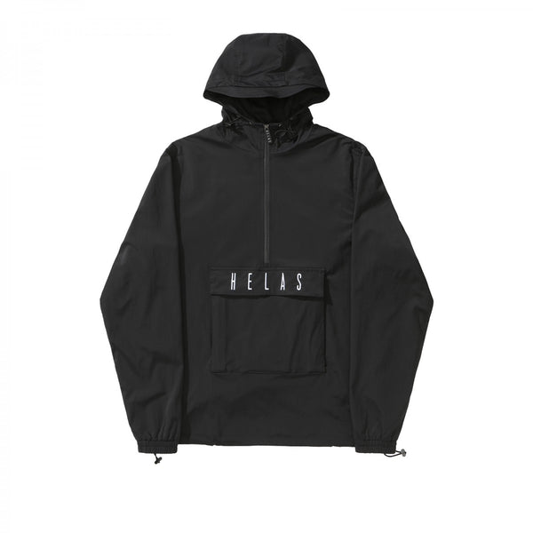 Helas Gang Tracksuit Jacket - Black