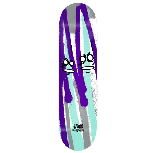 Heroin Skateboards Frank Shaw Call Of The Wild Skateboard Deck - 8.75
