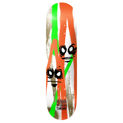 Heroin Skateboards Tom Day Call Of The Wild Skateboard Deck - 8.5