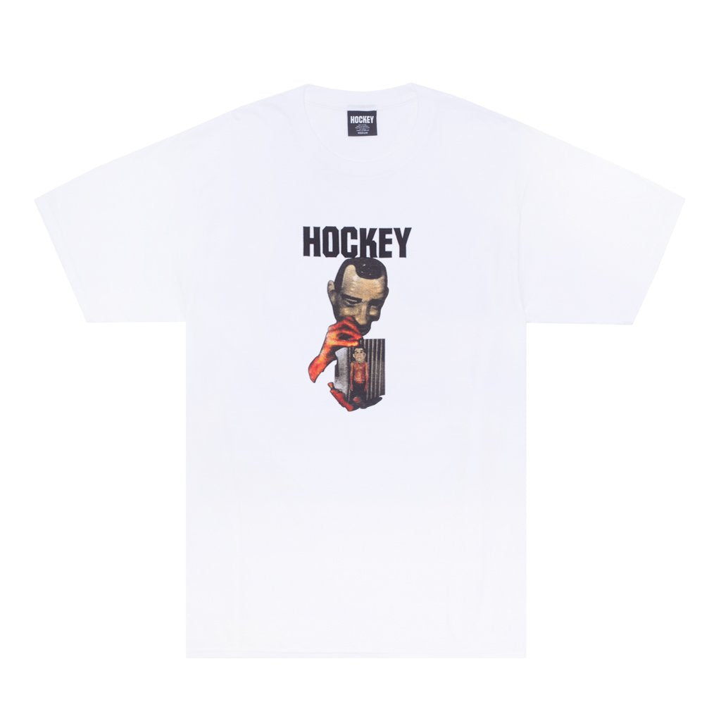 Hockey Point Break Tee White