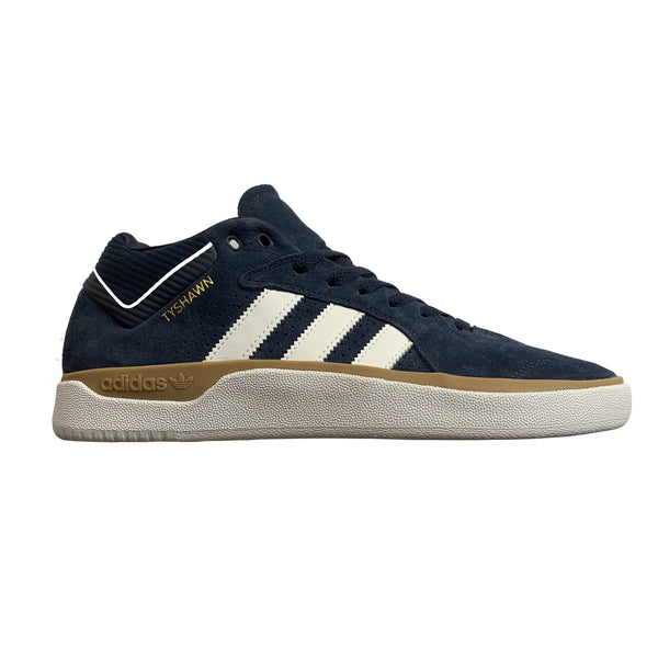 Adidas Skateboarding Tyshawn Shoes - Navy/White/Gum