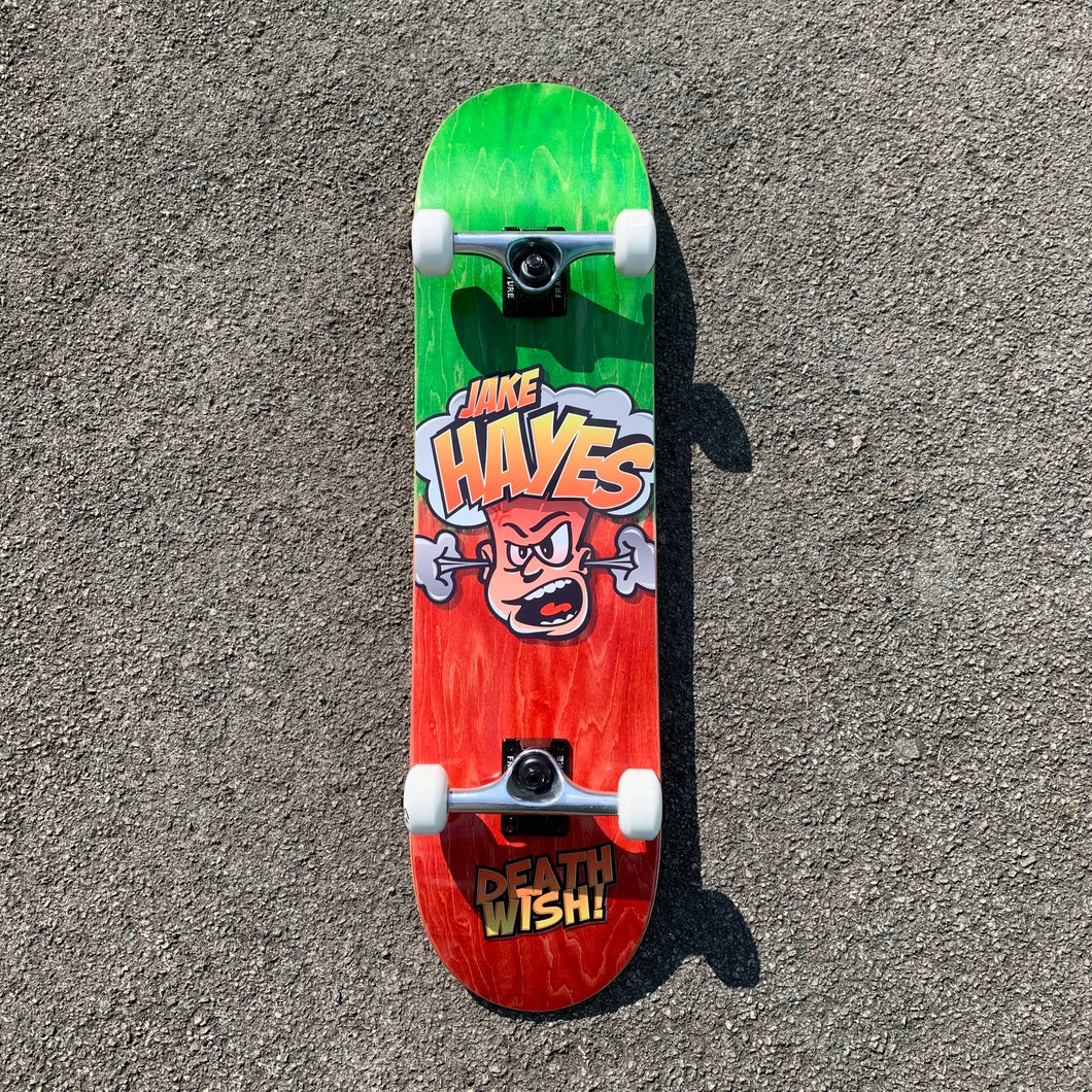 Deathwish Skateboards Jake Hayes Hot Head Complete Skateboard - 8.00