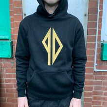Piss Drunx Embroidered Logo Hood - Black/Gold