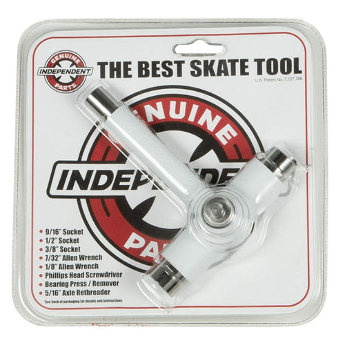 Independent Trucks Skate Tool Genuine Parts Best Skate Tool - White