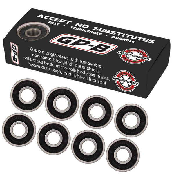 Independent Genuine Parts Skateboard Bearings Black