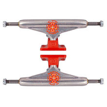 Independent Stage 11 Milton Martinez Standard Pro Skateboard Truck Silver/Red - 139 (Pair)