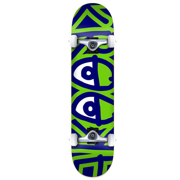 Krooked Bigger Eyes Complete Skateboard - 8.25