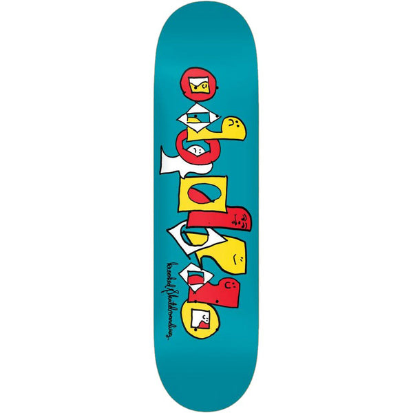 Krooked Pals Team Series Blue Skateboard Deck - 8.25