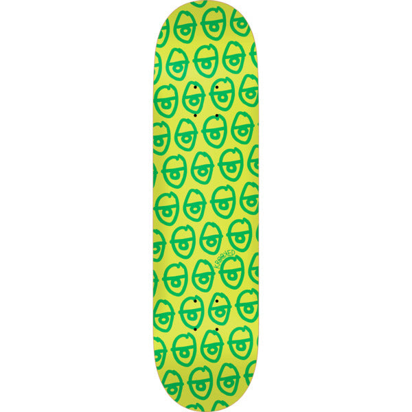 Krooked Pewpils Green Skateboard Deck - 8.5