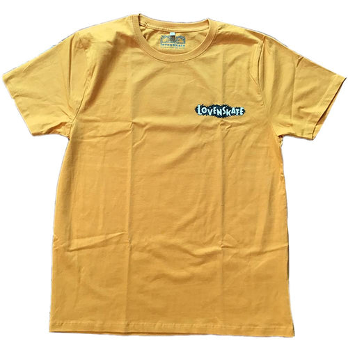 Lovenskate Unknown Unknowns T-Shirt - Mustard