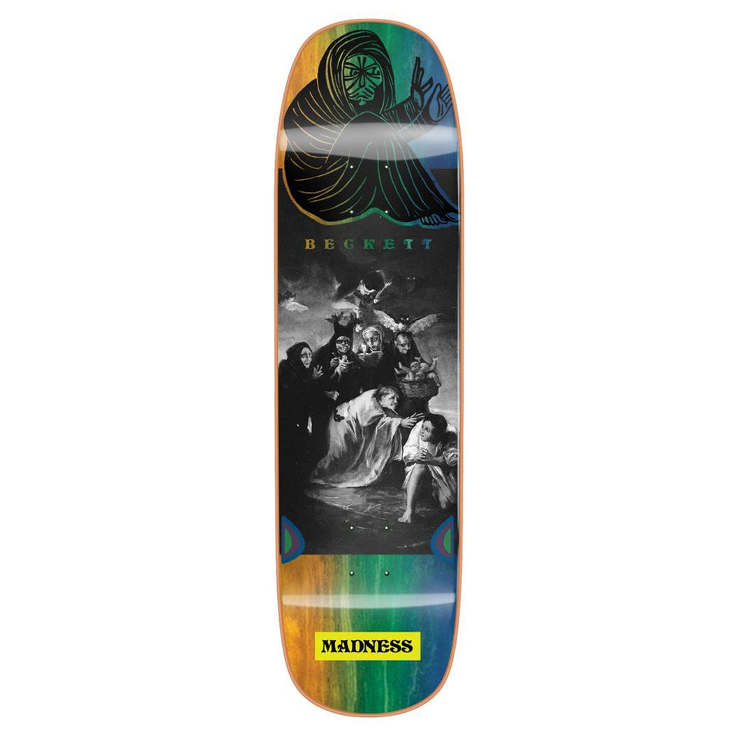 Madness Skateboards Sam Beckett Spell Bound Impact Light Skateboard Deck - 8.75