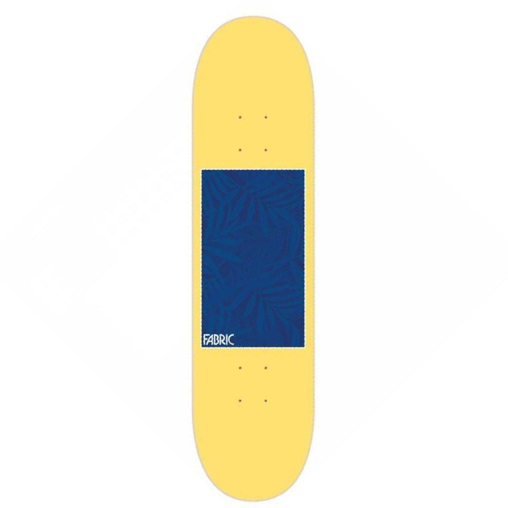 Fabric Skateboards Frondescence Yellow Deck - 8.25
