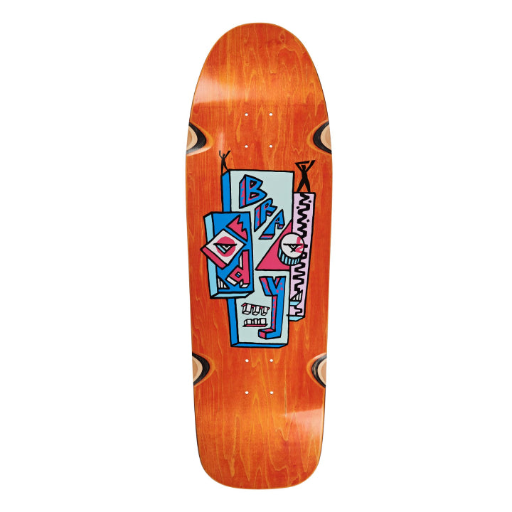 Polar Skate Co. Dane Brady Skyscraper Dane 1 Skateboard Deck - 9.75