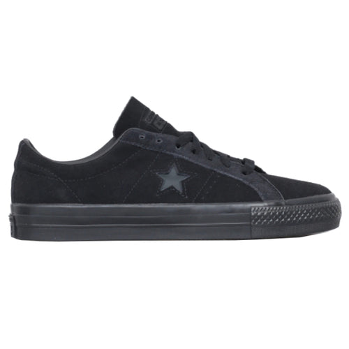 Converse One Star Pro Ox Skateboarding Shoes - Black/Black