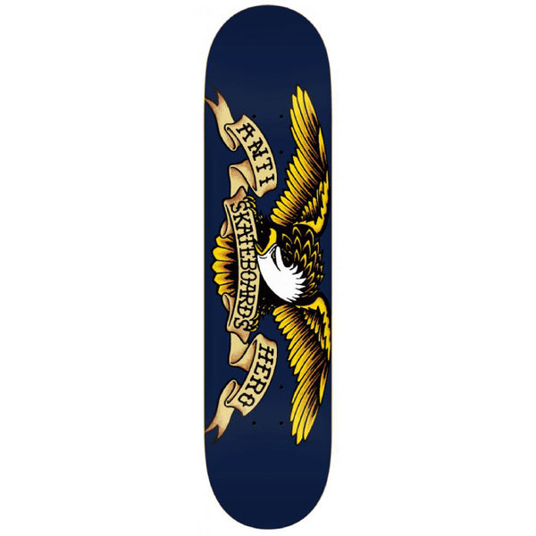 Anti Hero Skateboards Classic Eagle XLG Skateboard Deck Navy - 8.5