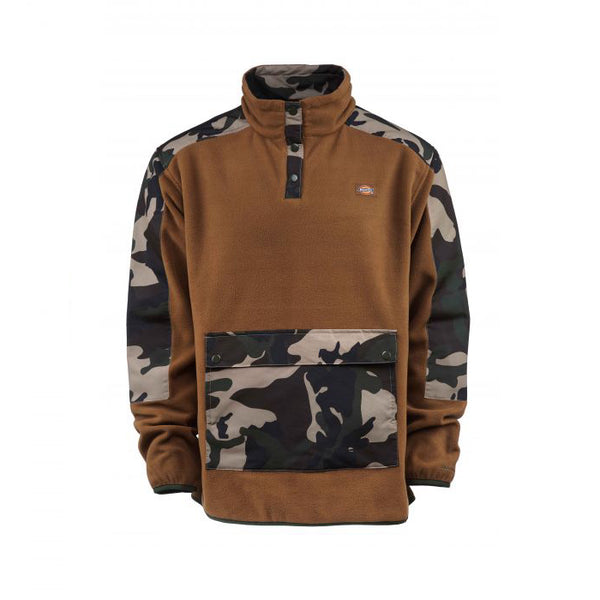 Dickies Denniston Fleece Jacket - Caramel/Camouflage