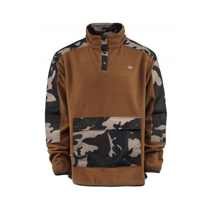 Dickies Denniston Sweat Jacket - Caramel/Camouflage