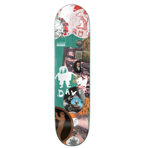 Numbers x Soulland Kyron Davis Edition 7 Skateboard Deck -  8.28