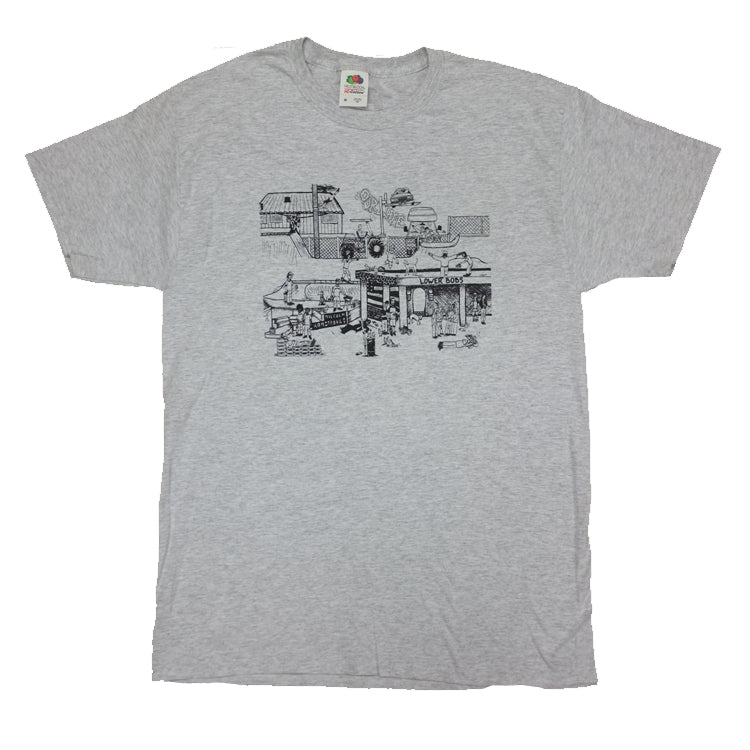 Our Life Lower Bobs T-Shirt - Grey