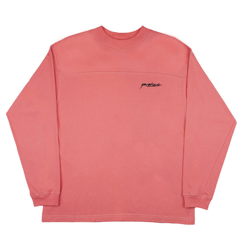 Yardsale Polo Long Sleeve - Pink
